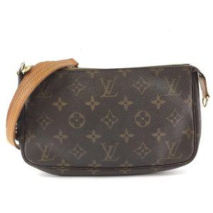 Louis Vuitton Pochette Clutch with Long Strap